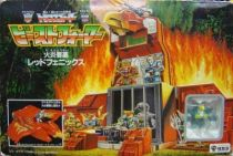 Beastformers (Battle Beasts) - Blazing Eagle / Red Phoenix Playset