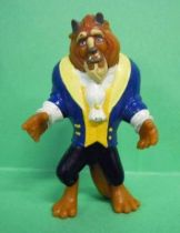 Beauty and the Beast - Disney PVC figure - the Beast (painted face)