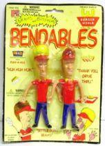 Beavis & Butt-Head - Bendable figures - Beavis & Butt-Head (World Burger) - Fun-4-All