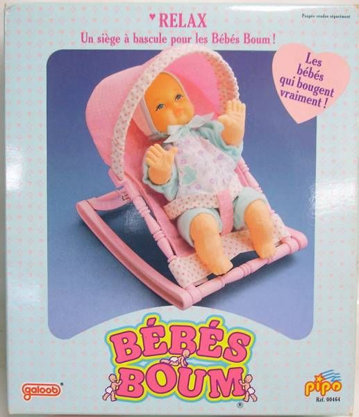 Bébés Boum - Relaxing baby chair - Galoob-Pipo