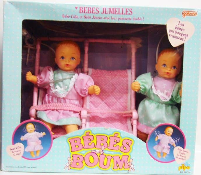 Bébés Boum - Twin Babies - Galoob-Pipo