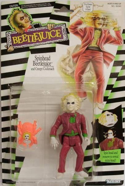 Beetlejuice - Kenner - Spinhead Beetlejuice
