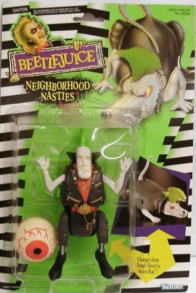 Beetlejuice - Kenner - Street Rat