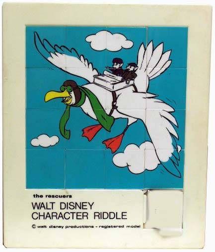 Bernard & Bianca (& Orville ) - Large Riddle Game