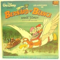 Bernard & Bianca  - Record book LP music songs and story