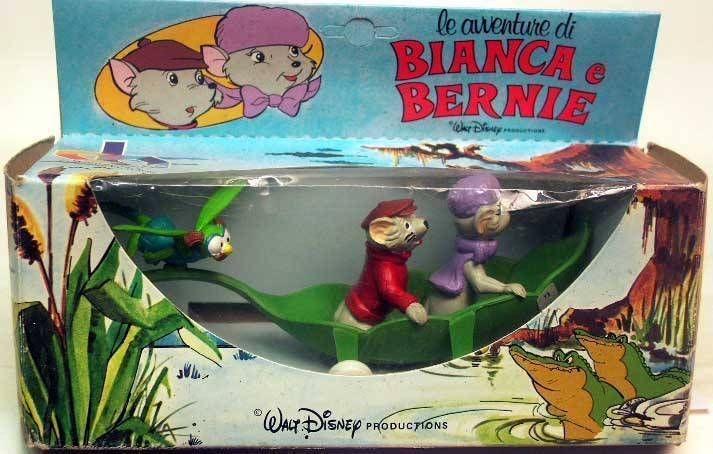 Bernard & Bianca  - The overcraft- leaf - Mint in Cb Toys Box