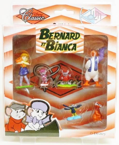 Bernard & Bianca - Kid\\\'M - Set of 6 Disney Classic PVC figures