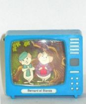 Bernard & Bianca - Merchandising - Small TV with stereo pictures