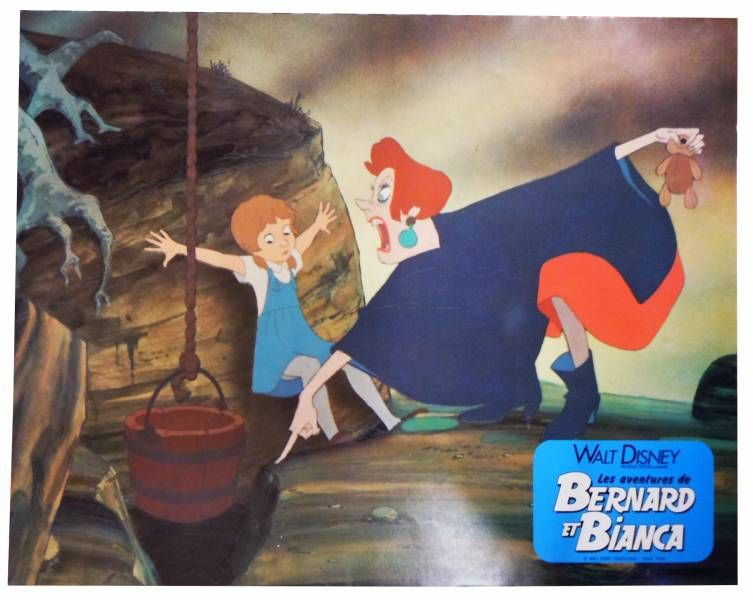 Bernard & Bianca - Set of 11 Lobby Cards