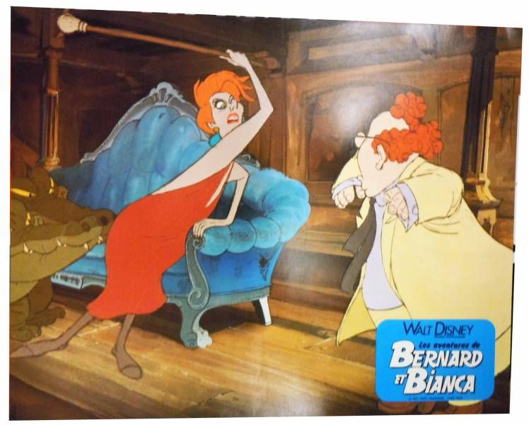 Bernard & Bianca - Set of 12 Lobby Cards