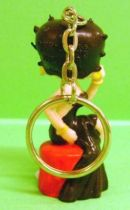 Betty Boop -  Dorda Toys Keychain 1995 - Betty Boop with black dress