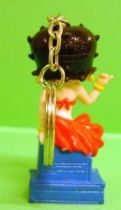 Betty Boop -  Dorda Toys Keychain 1995 - Betty Boop with red dress
