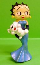 Betty Boop - Plastoy 2001 - Betty Boop with blue dress