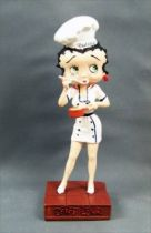 Betty Boop Chef Cuisinier - Figurine Résine M6 Interactions