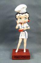 Betty Boop Chef Cuisinier - Figurine Résine M6 Interactions