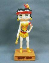 Betty Boop Indienne - Figurine Résine M6 Interactions