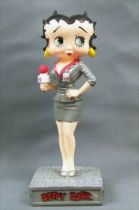 Betty Boop Journaliste - Figurine Résine M6 Interactions
