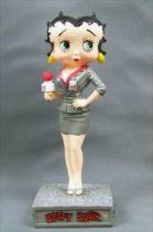 Betty Boop Journaliste - Figurine Résine M6 Interactions