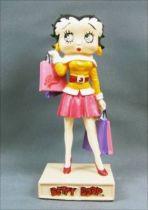 Betty Boop Shopping Girl - Figurine Résine M6 Interactions