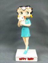 Betty Boop V�t�rinaire - Figurine R�sine M6 Interactions