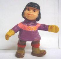 Bibifoc - Ayma (purple pull over) - Schleich pvc Figure