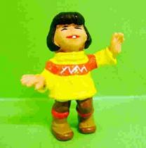 Bibifoc - Ayma (yellow pull over) - Schleich pvc Figure