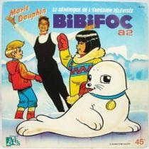 Bibifoc - Disque 45T - Générique par Marie Dauphin - Disque Ades 1985