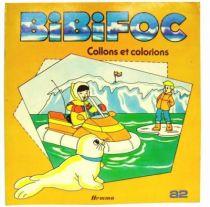 Bibifoc - Hemma A2 Editions - Let us stick and let us colour (activity book)