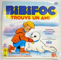 Bibifoc - Record-Book Mini LP - Bibifoc finds a friend -  Ades / Le Petit Menestrel Records 1985