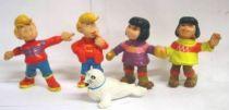 Bibifoc - Schleich -  Set of 5 PVC figures