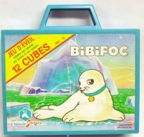 Bibifoc - Set of 12 cubes - France Jouets