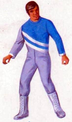 Big Jim - Adventure series - Blue & silver Space outfit (ref.8214)