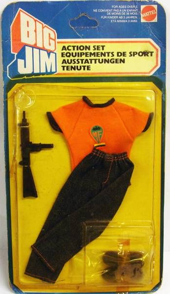 Big Jim - Adventure series - Bodyguard outfit (ref.7158-0710)