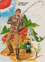 Big Jim - Adventure series - Camp-out Adventure Gear (ref.9920)