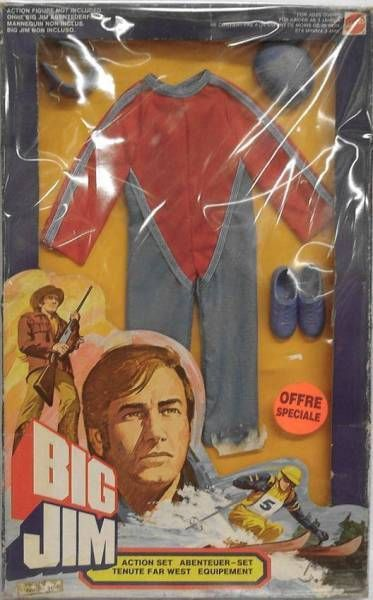 Big Jim - Adventure series - Delta glider Action set (ref.8217)