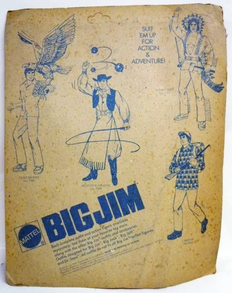 Big Jim - Adventure series - Demolition Crew Action set (ref.9417)