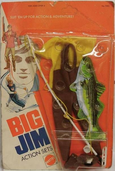Big Jim - Adventure series - Fisherman Action set (ref.7392)