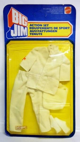 Big Jim - Adventure series - Paramedic outfit (ref.4056)