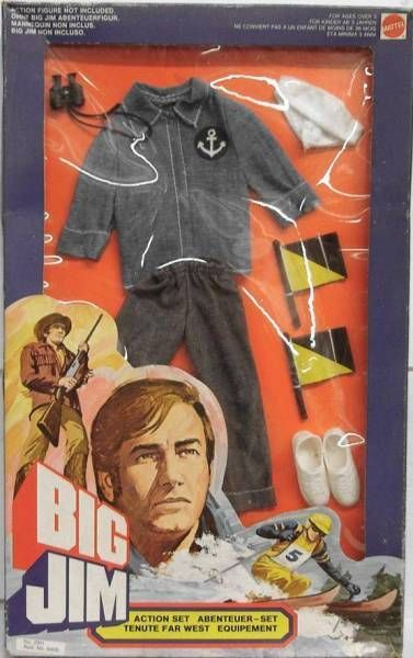 Big Jim - Adventure series - Sailor Action set (ref.2911)