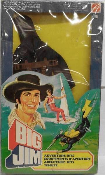 Big Jim - Adventure series - Scuba Diver Adventure set (ref.5434)
