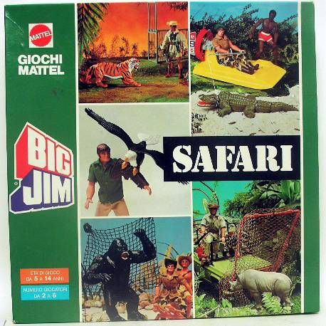Big Jim - Board Game - Big Jim Safari