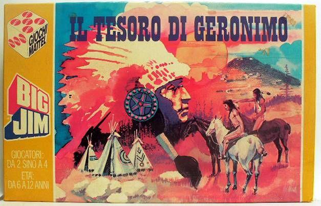 Big Jim - Board Game - Il Tesoro di Geronimo