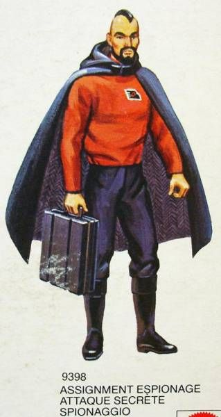 Big Jim - Commando series - Condor Force Assignment Espionage outfit (ref.9398)
