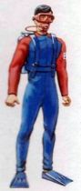 Big Jim - Commando series - Global Command Undersea Adventure outfit (ref.9396)