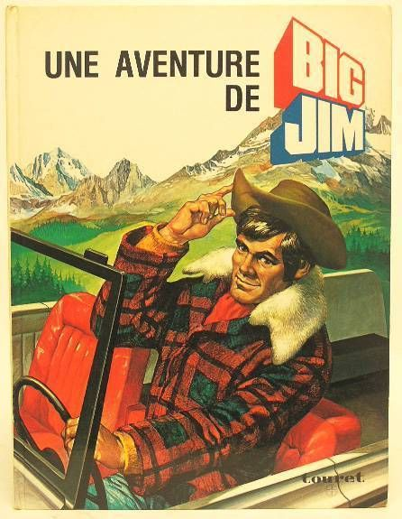 Big Jim - Large Story book - Une aventure de Big Jim