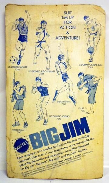 Big Jim - Sport series - Kung-Fu outfit (ref.7352)