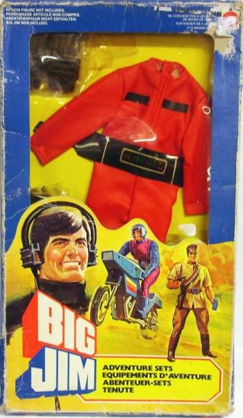Big Jim - Spy series - Attack Vehicle Driver outfit (ref.7150)