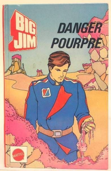 Big Jim - Story book - Danger Pourpre