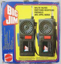 Big Jim - Walkie Talkies set - Mattel ref.9000