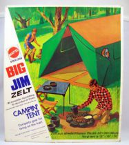 Big Jim Adventure series - Big Jim\'s Tent (ref.8873) loose with box